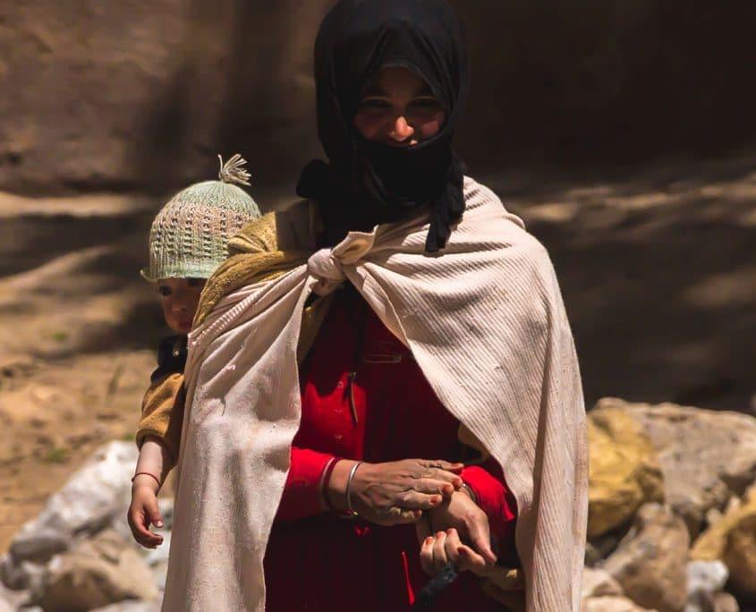 Morocco Nomadic Family Todra Gorge
